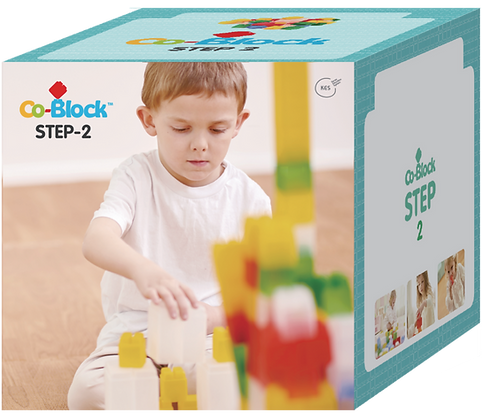 Co-Block X Little Pony Jelly Blocks 軟膠積木 Step 2 160P