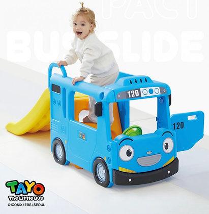 YAYA 韓國製 Tayo Bus Slide小型滑梯
