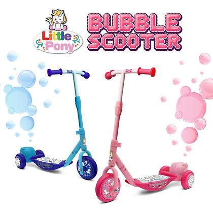 Little Pony Bubble Scooter 泡泡滑板車
