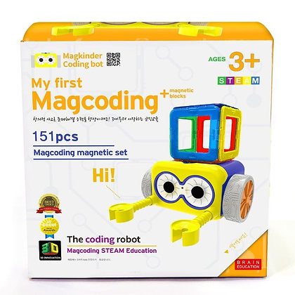 Little Pony X MagCoding STEAM磁石片X編程教育玩具- My First MagCoding Magnetic Set 151PCS