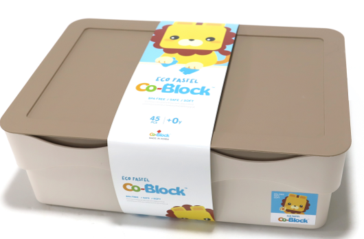 Co-Block X Little Pony Jelly Blocks 軟膠積木 ECO PASTEL 45P