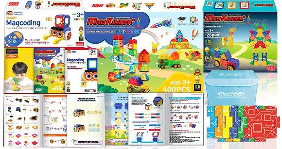 Little Pony X SmartMagCoding STEAM磁石片X編程教育玩具