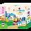 Thumbnail: Co-Block X Little Pony Jelly Blocks 軟膠積木Echo PASTEL69Pcs