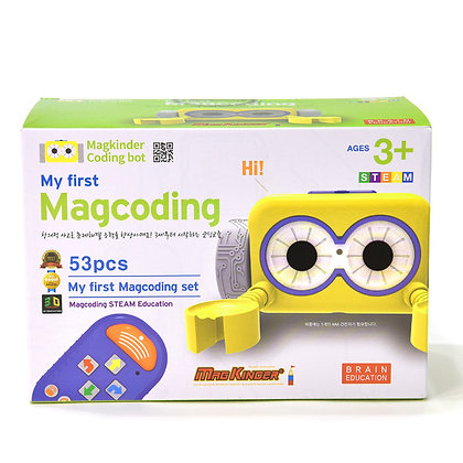 Little Pony X MagCoding STEAM磁石片X編程教育玩具 - My First MagCoding 53PCS