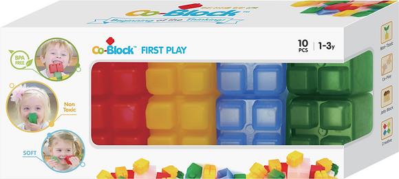 Co-Block X Little Pony Jelly Blocks 軟膠積木 First Play10P
