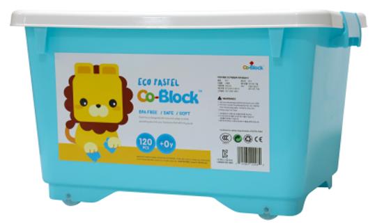 Co-Block X Little Pony Jelly Blocks 軟膠積木 ECO PASTEL 120P