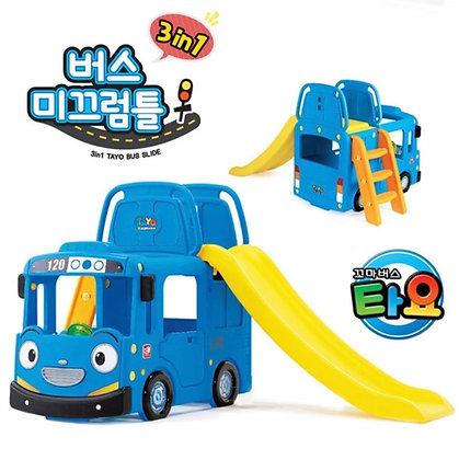 YAYA 韓國製 3合1 TAYO Bus 滑梯