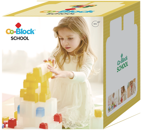 Co-Block X Little Pony Jelly Blocks 軟膠積木 School Set 360P