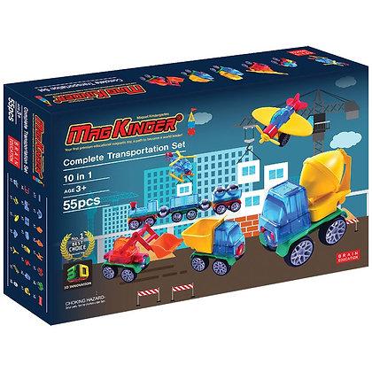 Little Pony x Magkinder Complete Transportation Set 55pcs