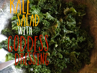 Kale Salad with Goddess Dressing