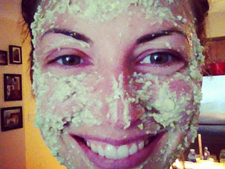 Oat Avocado Face Mask