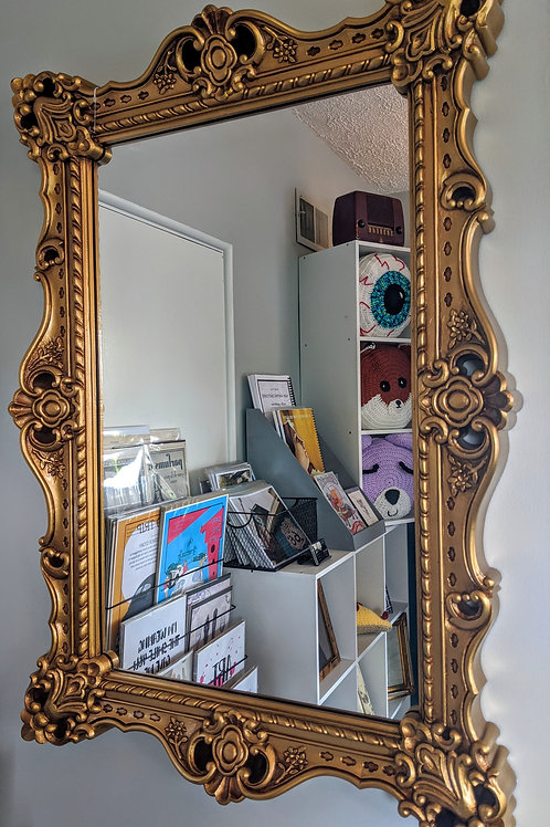 Gorgeous Gold Mirror