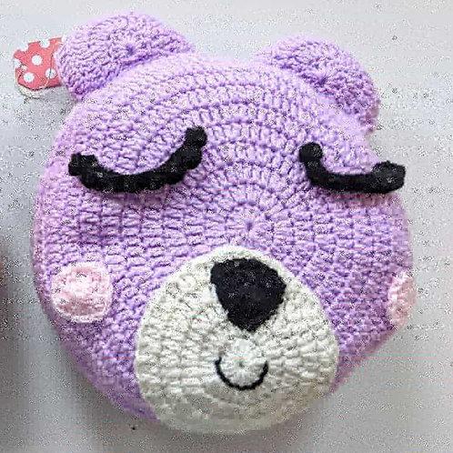 """12"""" Bear Pillow"""