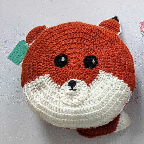 "12"" Fox Pillow"