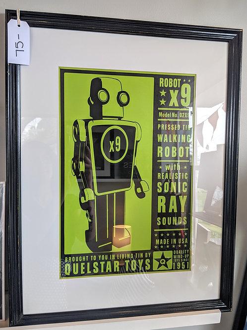 Toy Robot (Framed)