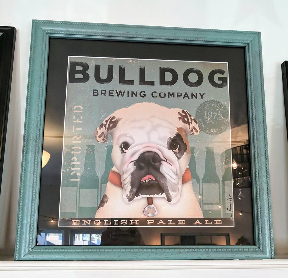Vinframeaffair bulldog brewing company jeuxipadfo Image collections