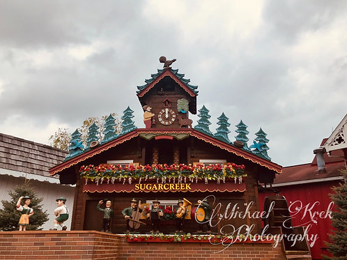 Swiss Village Clock