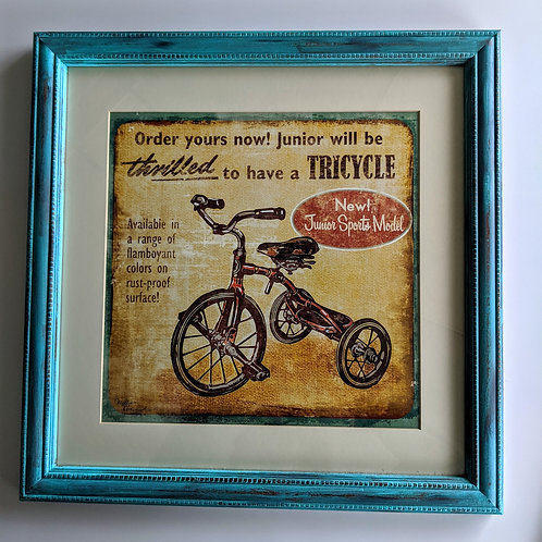 Tricycle (Framed)