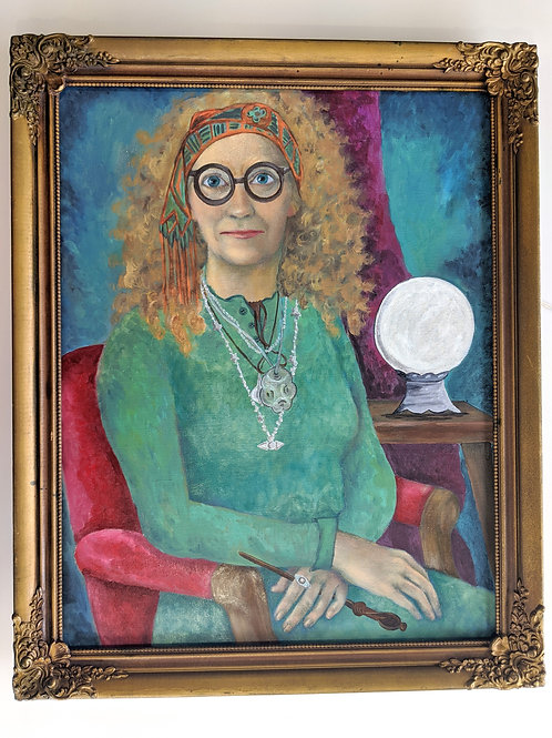 HP Professor Trelawney Painting