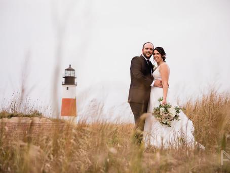 A Wedding at Nantucket's Lighthouses