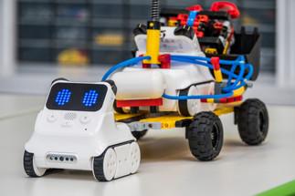 Roboty i klocki Lego