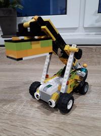 Roboty konstruowane przez dzieci na zajęciach zdalnych