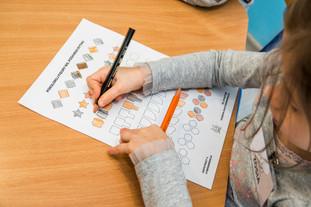 Ćwiczenia logiki matematyki dla przedszkolaków