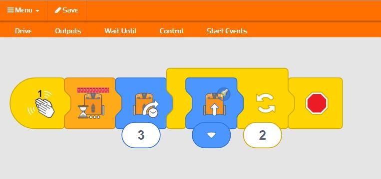 Edblocks App dla Edison v2.0