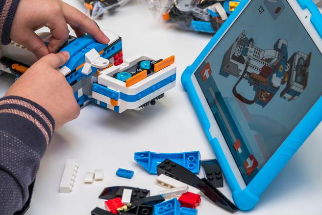 Lego Boost po lekcjach w świetlicy
