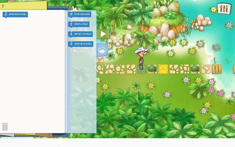 piękna aplikacja do kodowania dla dzieci