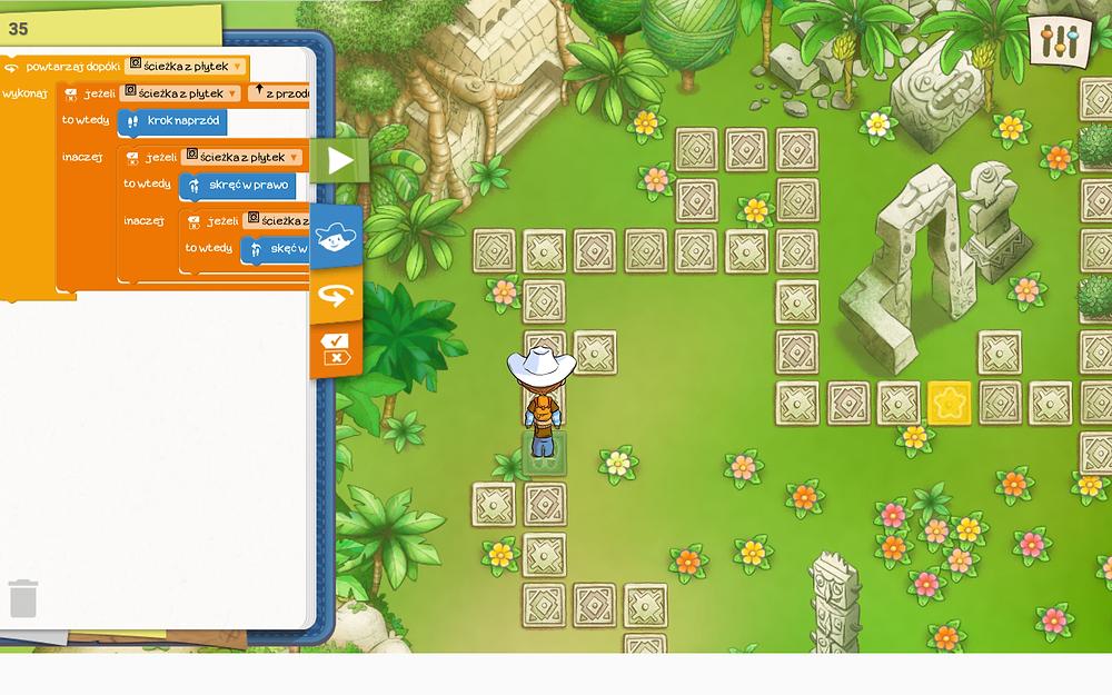 gra do nauki programowania dla dzieci