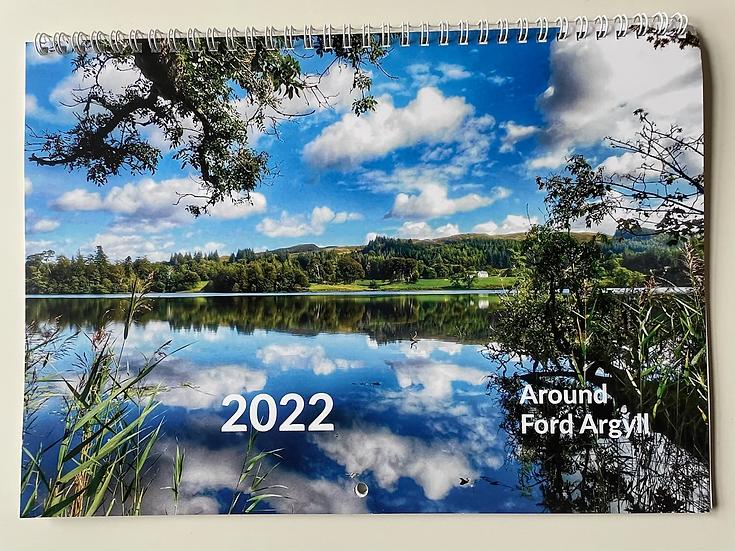 2022 Around Ford Argyll Calendar