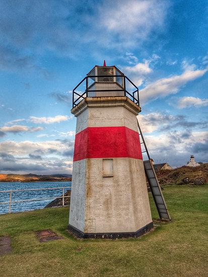 Crinan Lighthouse, Single Card