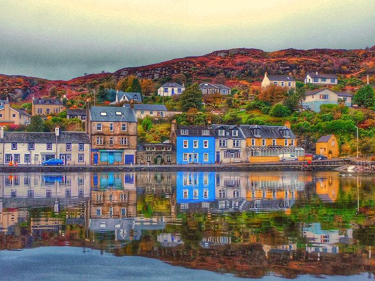 Autumn Tarbert Loch Fyne, Single Card