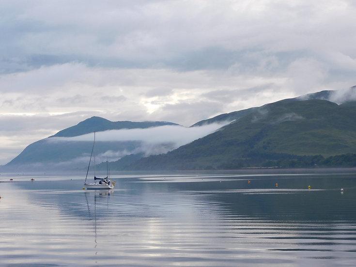 Loch Linnhe Reflections, Single Card