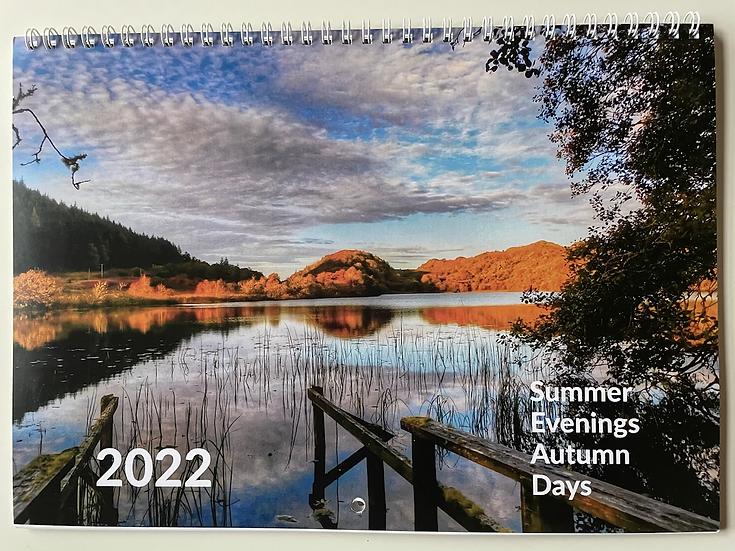 2022 Summer Evenings Autumn Days Calendar