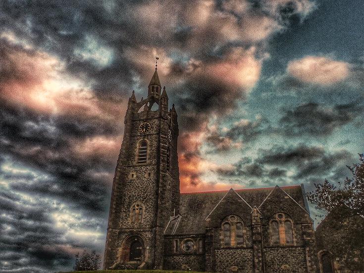 Tarbert Church, Single Card