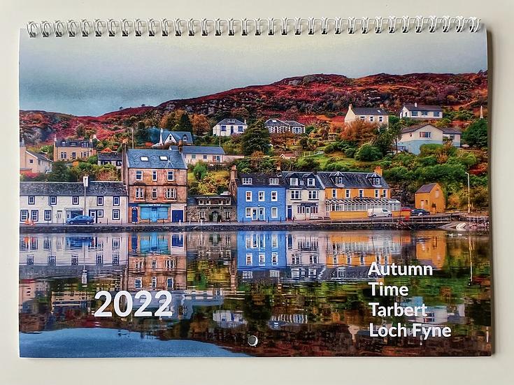 2022 Autumn Time Tarbert Loch Fyne Calendar
