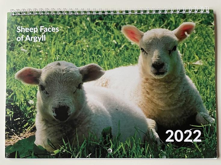 2022 Sheep Faces of Argyll Calendar