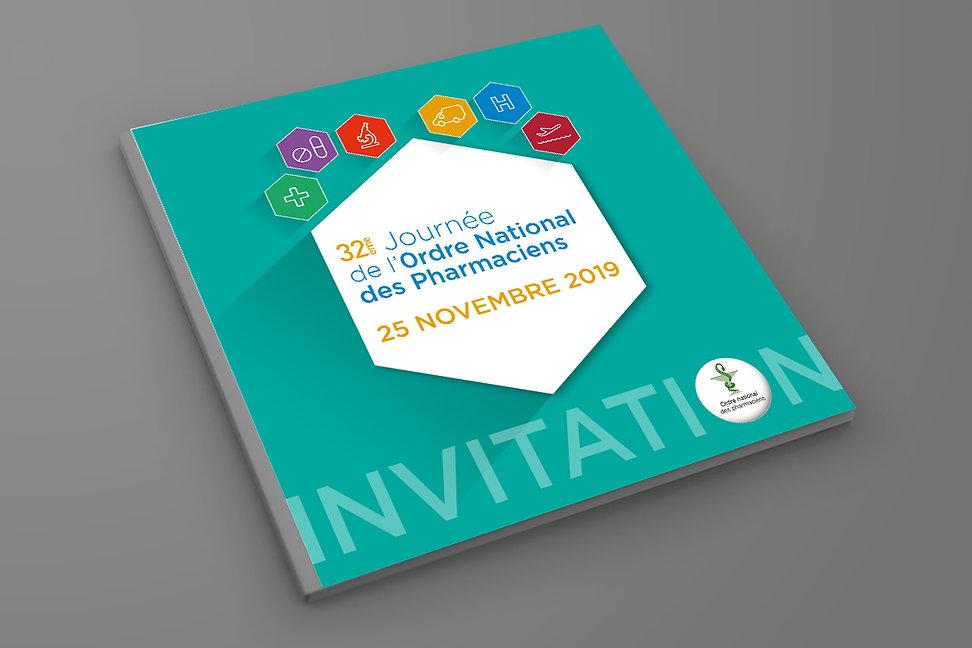 Invitation Journée de l'Ordre des Pharma