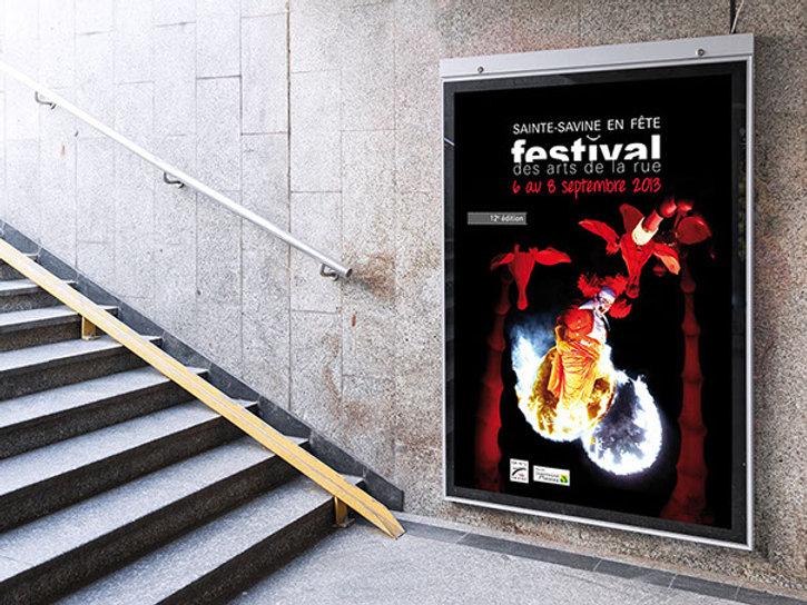 affiche_festival des arts de la rue_2013