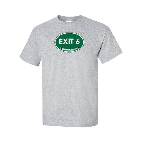 Exit 6 - North Wildwood T-shirt
