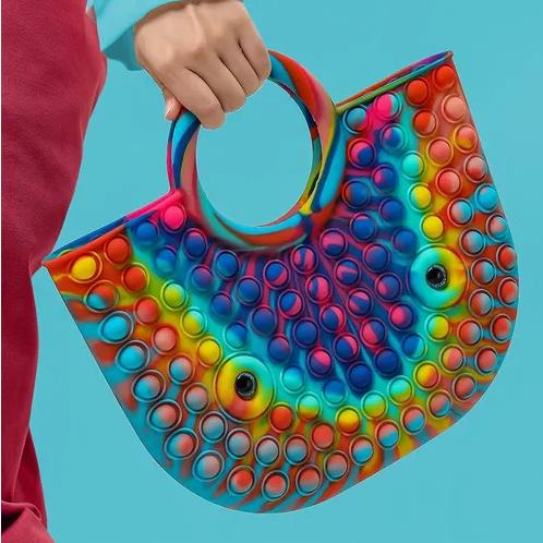 New Trending Handbag Tote Popit Bubbles Popit Bag