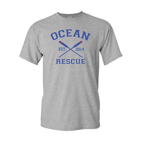 Ocean Rescue Crossed Oars Shirt