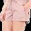 Thumbnail: Vegan Leather Paper Bag Waist Shorts