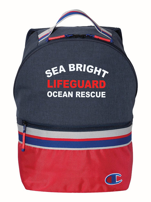 Sea Bright Champion Navy Back Pack
