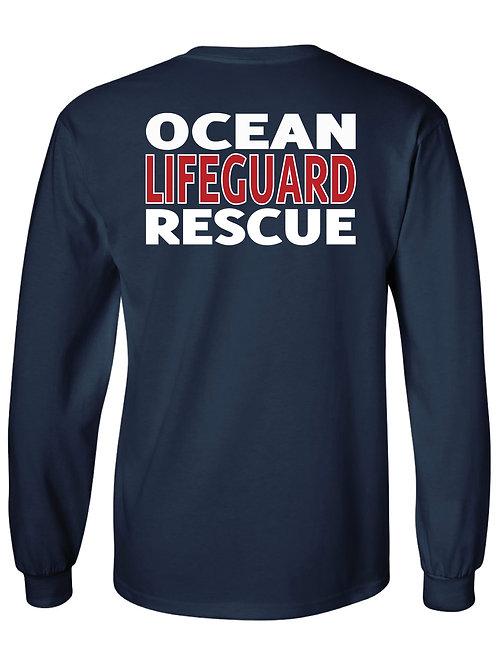 Sea Bright LIFEGUARD Ocean Rescue Longsleeve T-shirt