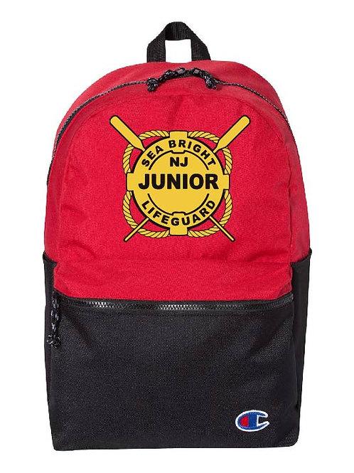 Sea Bright Junior Guard Champion - 21L Script Backpack