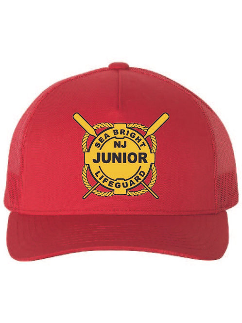 copy of Sea Bright JG Red Trucker Hat