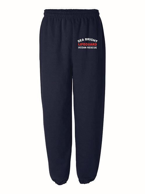 Sea Bright Navy Sweatpants